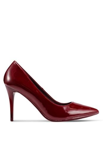 BETSY 紅色 漆皮高跟鞋 F6F4BSH6D27106GS_1