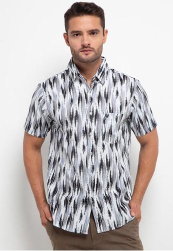 WALRUS white Short Sleeve Shirt Studio 818DAAAD6287A1GS_1