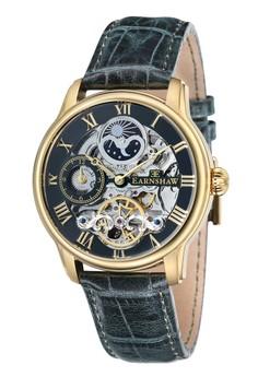 Thomas Earnshaw Longitude Es-8006-09 Men's Genuine Leather Strap Watch