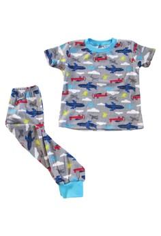 Airplanes Pajama Set