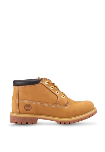 Timberland brown and yellow Timberland Iconic Nellie Chukka Double Waterproof Boots E9E23SH6C93CA7GS_1