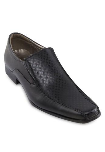 方esprit暢貨中心頭暗紋紳士皮鞋, 鞋, 休閒鞋