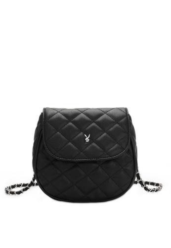 PLAYBOY BUNNY black Women's Sling Bag / Shoulder Bag / Crossbody Bag CD6F5AC43DFF45GS_1
