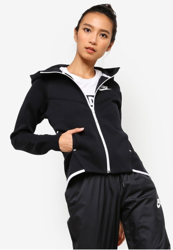 Nike black Women s Nike Sportswear Tech Fleece Windrunner Full-Zip Hoodie  953ADAA42B1A2DGS 1 5ff3ea7ac2