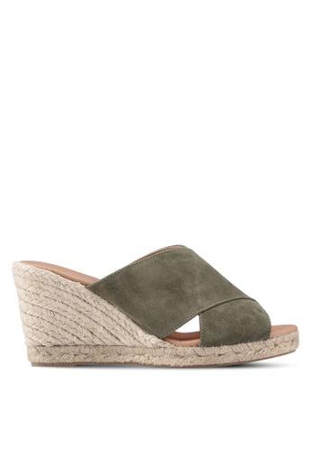Carvela KG brown Karp Wedge Sandals 3F80BSH5948FE1GS_1