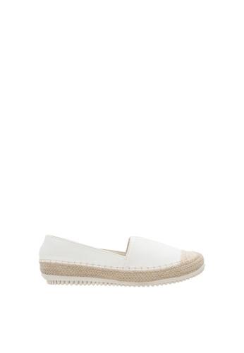 SEMBONIA white SEMBONIA Loafer Shoe (White) D9952SHF360681GS_1