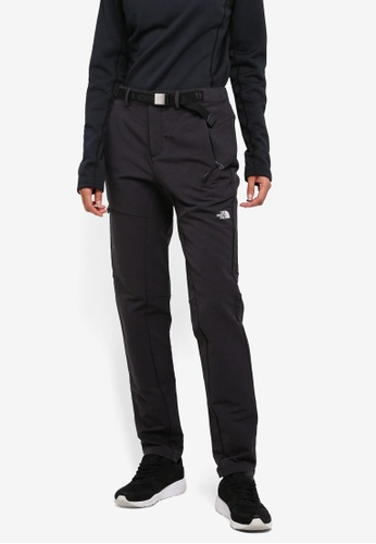The North Face black TNF W FASTER HIKE DWR HYBRID PANTS - AP TNF BLACK B42A3AA9B31635GS_1