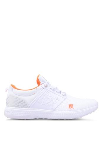 Superdry white Super Freesprint Mono Shoes 3A700SH46F1F98GS_1