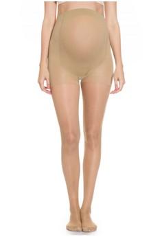 Image of MOOIMOM Maternity Stocking Tights 8 Denier Stocking Ibu Hamil - Nude