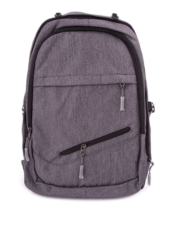 All Things New grey Multipurpose Laptop/Basketball Backpack 251F9AC82D7AF7GS_1