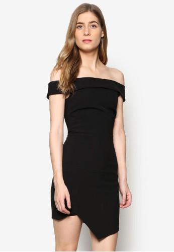 Tila 平esprit 面試口露肩連身裙, 服飾, 洋裝