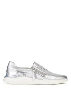 d68b1371a1fca Geox silver Theragon Sneaker E5549SHB020183GS_1
