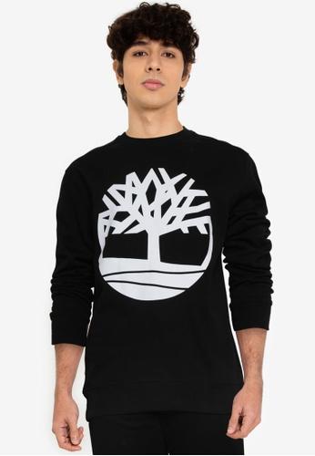 Timberland black Core Tree Logo Sweatshirt ABAD7AAE0EA987GS_1