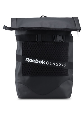 Reebok black Classic Core OPS Strap Backpack 95015AC6102465GS_1