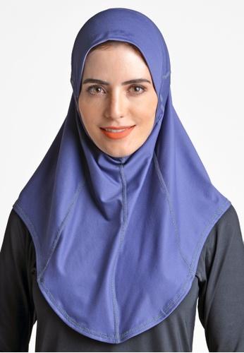 ViQ blue ViQ Active Airy Hijab 52552AA4B46800GS_1
