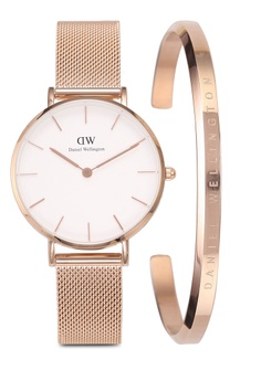 9996e16fea4c Daniel Wellington Combo Melrose 32mm White Watch + Cuff S  338.00. Sizes  One Size