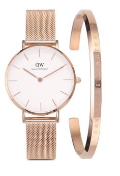 992a29e6e6918 Daniel Wellington Combo Melrose 32mm White Watch + Cuff S  338.00. Sizes One  Size