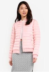 ZALORA pink Soft Padded Jacket 70026ZZ196DE20GS_1