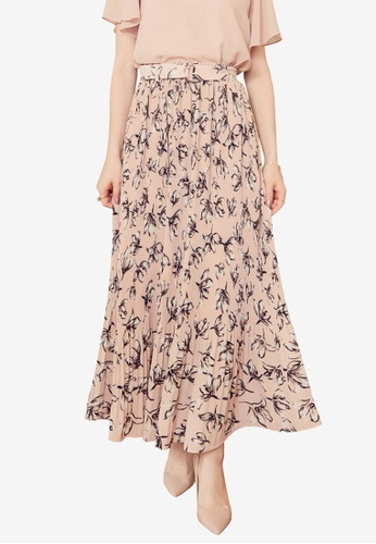 802bb492922 Shop YOCO Floral Print Pleated Skirt Online on ZALORA Philippines