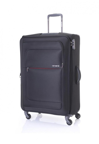Samsonite black Samsonite Populite Spinner 77/28 Exp SA186AC08XLBSG_1