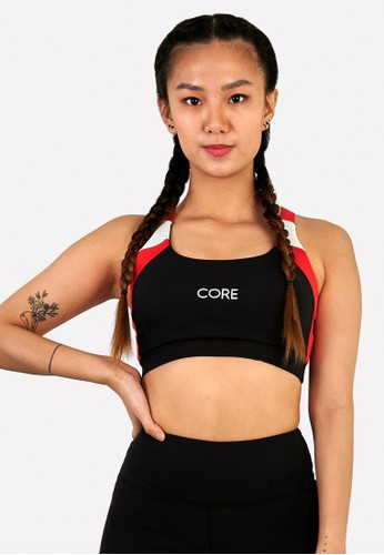 Corenation Active black and white and red Felicia Bra Premium - Black / White / Red C0243AA19E4D51GS_1
