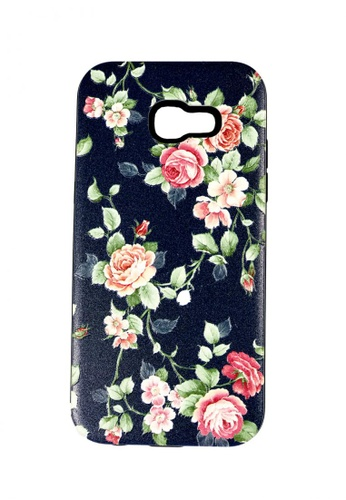 timeless design 278a6 1223d DualPro Hard Shell PC Case with Floral Paint for Samsung Galaxy A7 2017 #1