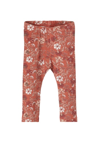 NAME IT red Nellal All-Over Printed Leggings E3202KA768E060GS_1
