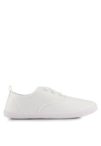 ONLY white Seline Plain Sneakers B5256SHEFF4E6FGS_1