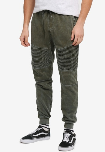 Cotton On green Moto Track Joggers 07767AAA1CE0D8GS_1