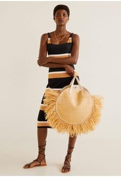 0671b806011b 35% OFF Mango Striped Jersey Dress S$ 45.90 NOW S$ 29.90 Sizes S M L