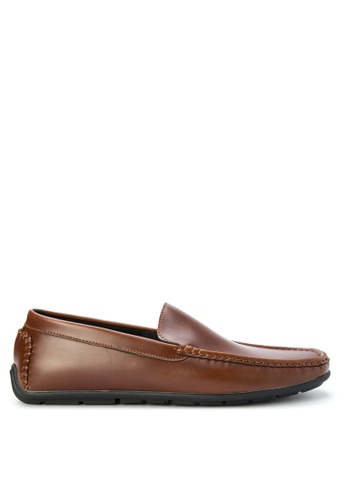 Preview brown Fritz Loafers PR211SH0KAOJPH_1
