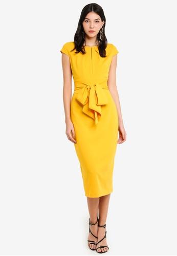 CLOSET 黃色 鉛筆洋裝 1276EAA3A86267GS_1