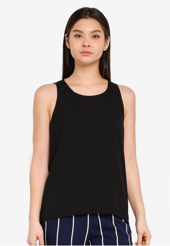 Cotton On black Olivia Tank Top 94C53AA153EF88GS_1
