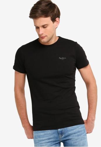 ca5ad1f579ef Pepe Jeans black Original Basic T-Shirt With Logo 1FEC1AAE1AD34BGS_1
