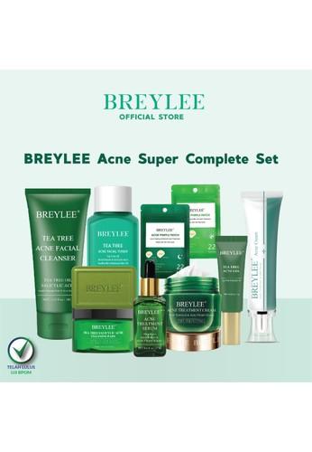 Breylee BREYLEE Acne Super Complete Set - Perawatan Wajah Berjerawat (10 pcs) 03E6DBEE0B9AA6GS_1