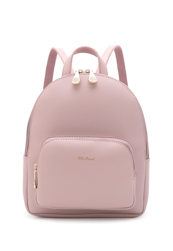 Wild Channel pink Women's Casual Backpack 4CC80ACE381377GS_1