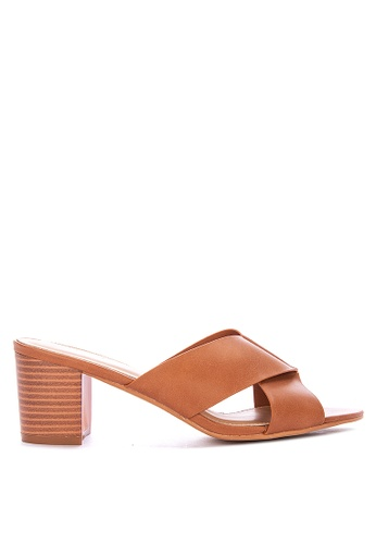 Alberto brown Chunky Heeled Sandals 0EA88SH439273EGS_1