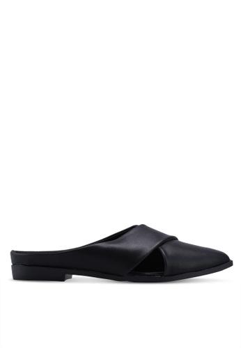 Noveni 黑色 Slide On Sandals F4257SH686AEC5GS_1