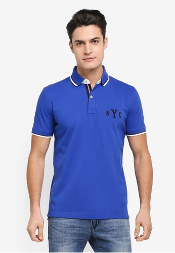 1ba83499d Buy Tommy Hilfiger WCC AVERY TIPPED POLO S S RF Online on ZALORA ...