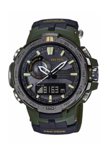 G-shock green CASIO PRO-TREK PRW-6000SG-3  SET TRIPLE SENSOR WATCH GS076AC81GJIMY_1