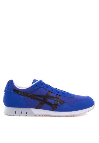 ASICSTIGER black and blue CURREO Sneakers AS118SH76INJPH_1