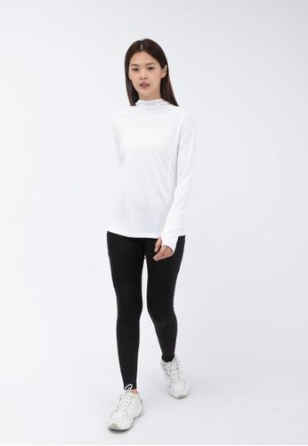 Trijee white Trijee Women Long Sleeve With Hoodie Lyssa - White 4DF05AA72180ACGS_1