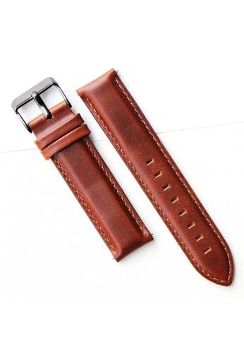 PICONO Watches brown Quick Release Brown Leather Strap PI771AC2VURLHK_1