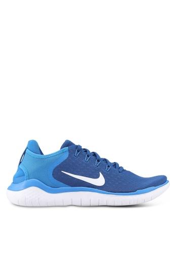 Nike blue Nike Free RN 2018 Running Shoes B8129SH5426EBEGS_1