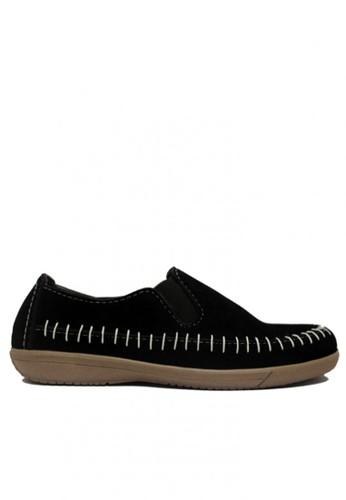D-Island black D-Island Shoes Casual Slip On Rajut Comfort Black DI594SH83XYYID_1