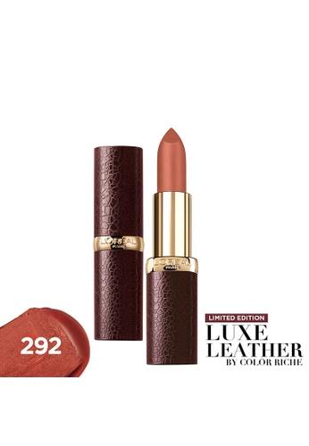 L'Oréal Paris n/a Color Riche Luxe Leather 292 3BDA3BE6775A9AGS_1