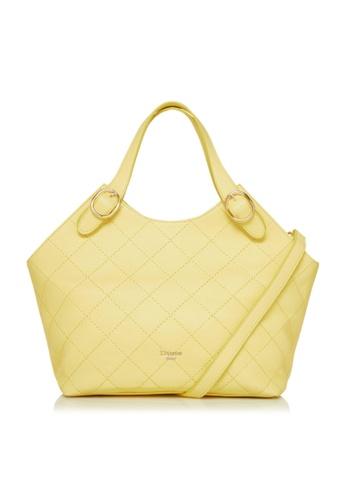 Dune London yellow Dune London Dollis Women Quilted Shoulder Bag 4005EAC41D1851GS_1