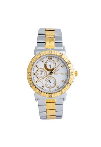 BONIA gold and silver Bonia Premium - BP10422-2112S - Jam Tangan Wanita B5128AC91624D9GS_1