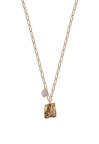 SKEDA gold Alena Necklace A9264AC574D3C4GS_1