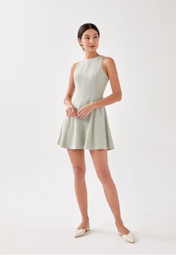 Love, Bonito green Dara Panelled Dress DC92CAA0D2C6CCGS_1